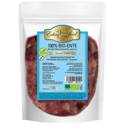 100% BARF Bio-Ente - limited edition (250g)